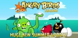 Angry Birds Seasons Get Summer Update: World Of Piglantis